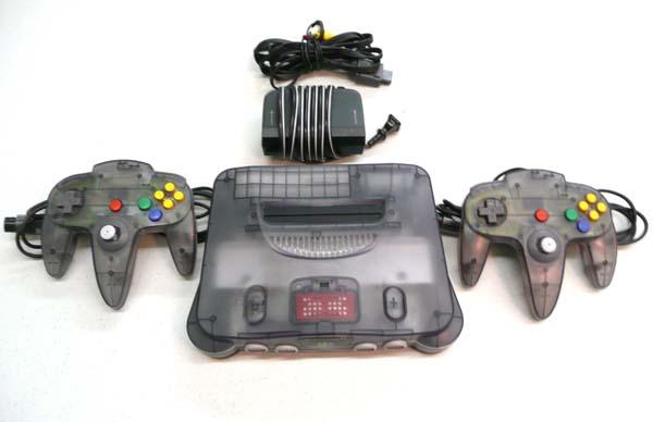 Nintendo 64 9N64plomo