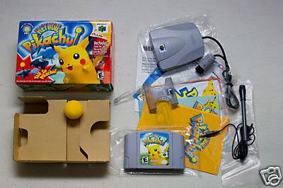 Nintendo 64 Heyyoupikachu