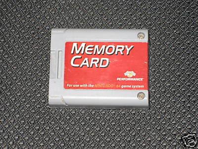 Nintendo 64 CMemorypak64