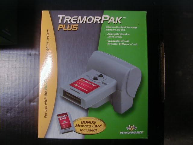 Nintendo 64 DRumblememory