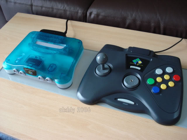 Nintendo 64 EN64arcadeshark