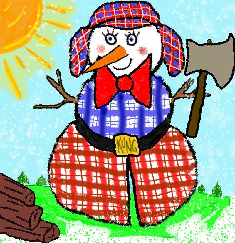 Snowman Decorating Contest Snowman3