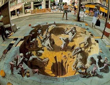 Arti i Rruges Urban_chalk_art