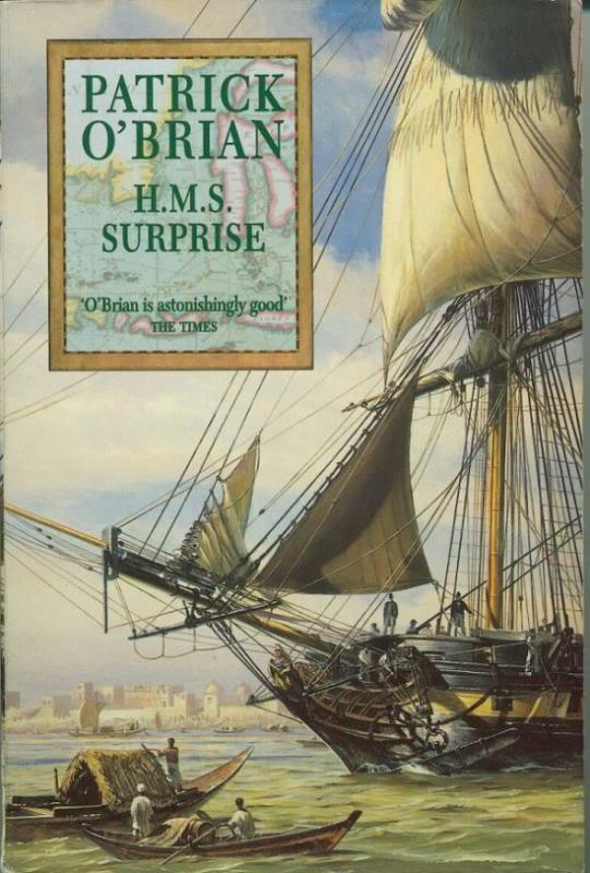 Saga di Jack Aubrey e Stephen Maturin 03HMSSurprise