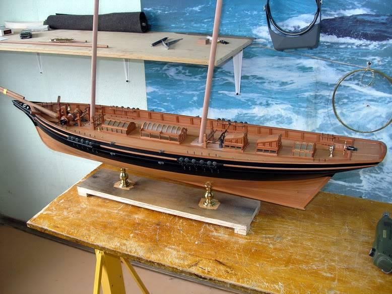 Yacht Imperiale Queen Victoria - Tecnica Costruttiva dello Scafo - Pagina 4 IMG_03410