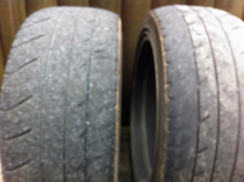 Strange Tyre Wear 1photo