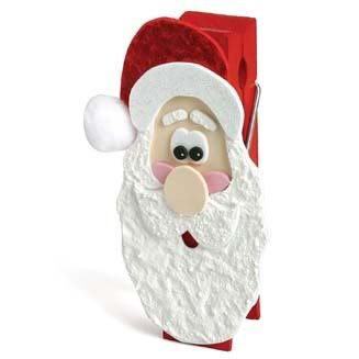 Santa Clothespin Santaclothspin