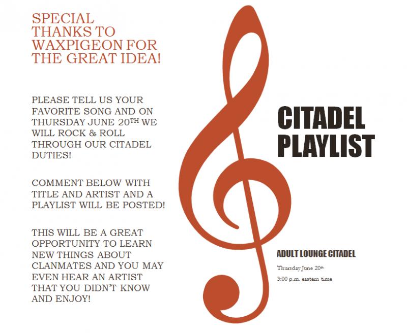 Citadel Playlist Playlist2