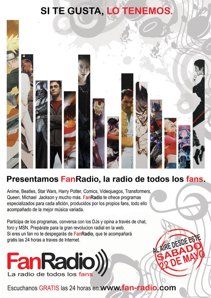 FanRadio: Estacion de radio por Internet (inicia 22 de mayo) AFICHEFANRADIOforos