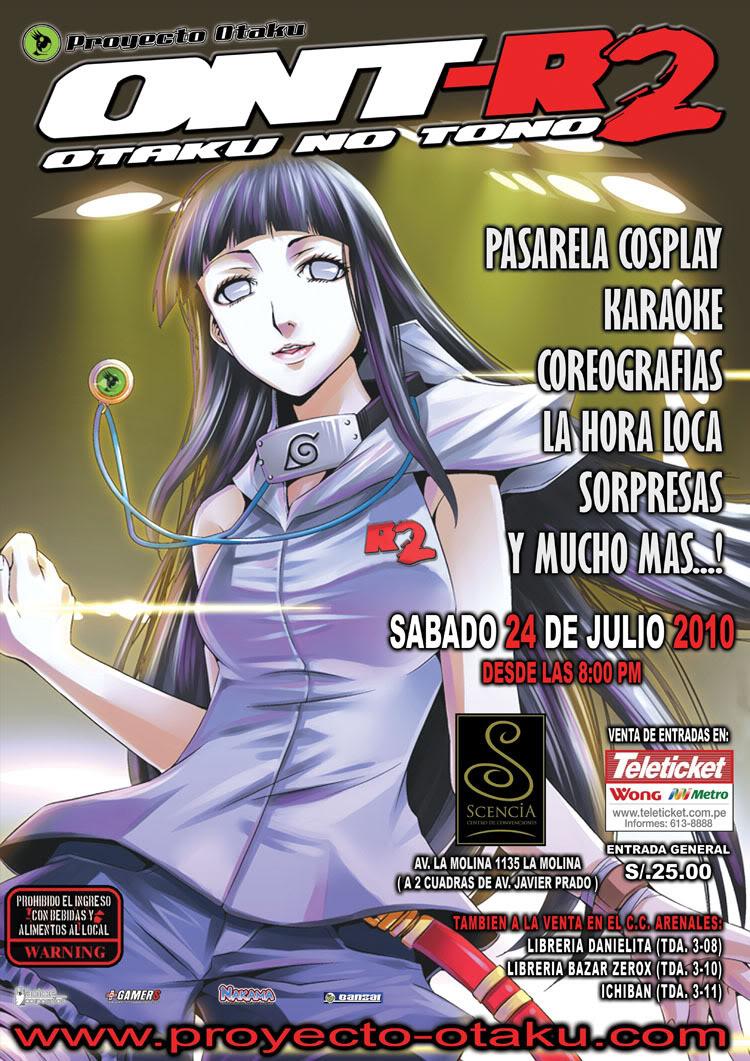 Julio 24, 2010: OTAKU NO TONO -R2 (LIMA) AficheONT-R2sample