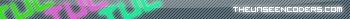 zZ.TR4FF1C.Zz's GFX Archive  TheUnseeNcodersUserbarNeon