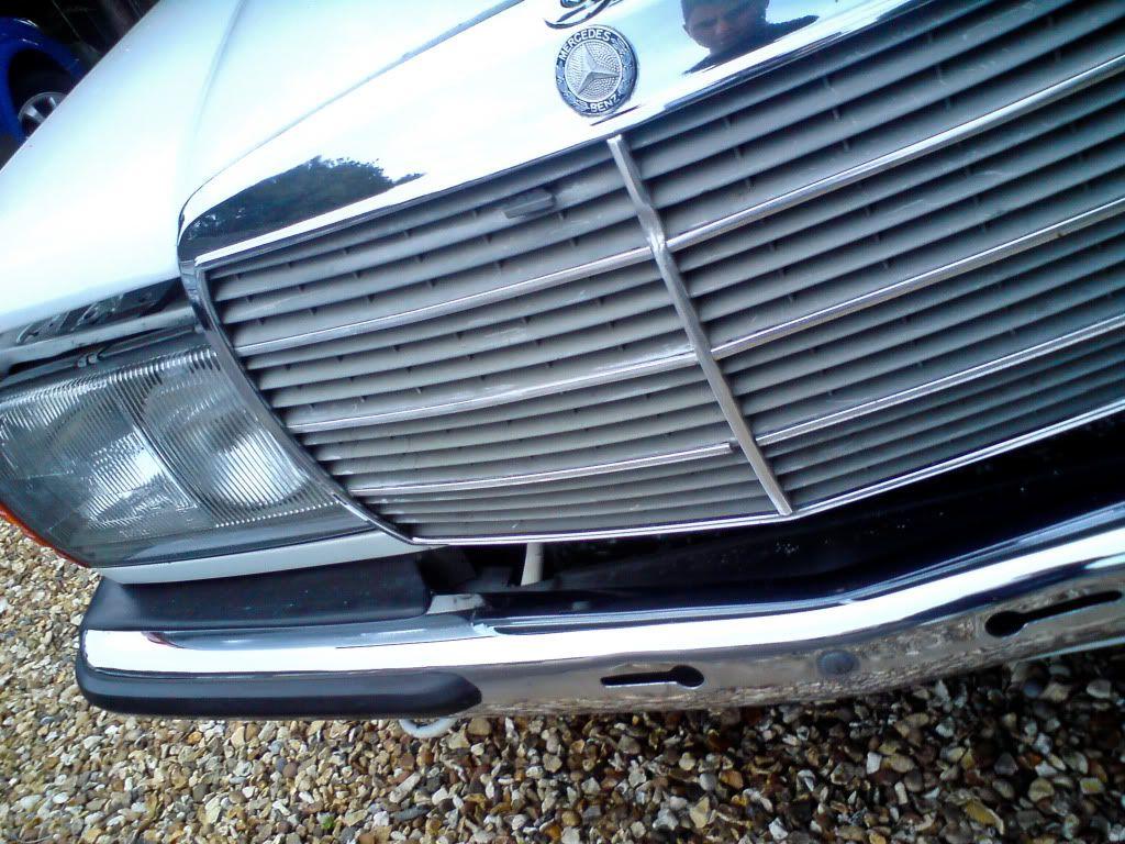 Benny's Mercedes W123 280TE Project. DSC02092
