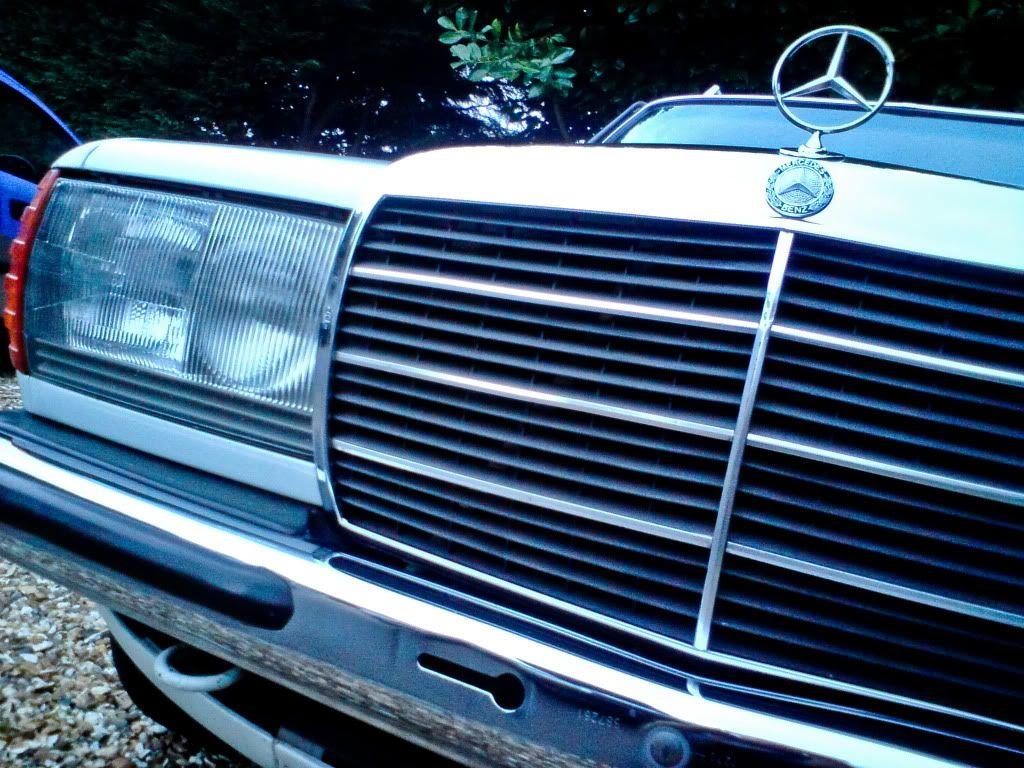 Benny's Mercedes W123 280TE Project. DSC02093