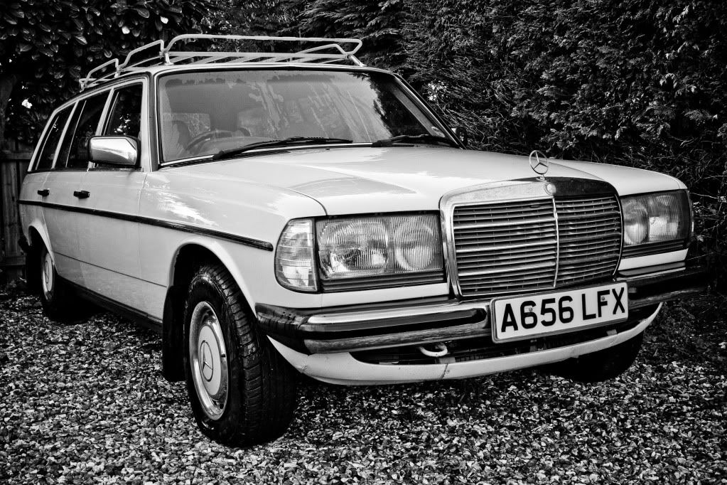 Benny's Mercedes W123 280TE Project. IMG_9596
