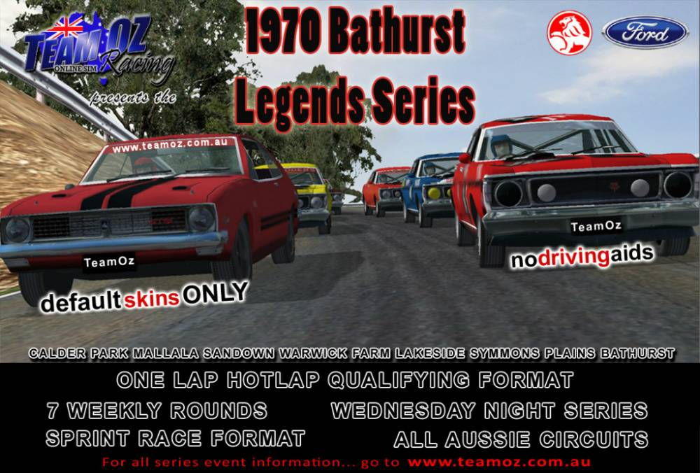 TeamOz Racing - 1970 Bathurst Legends Series 2012BathurstLegendsSeries