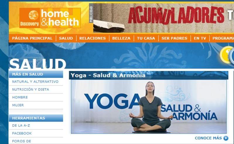 Yoga:  ejercicios varios DiscoveryHH