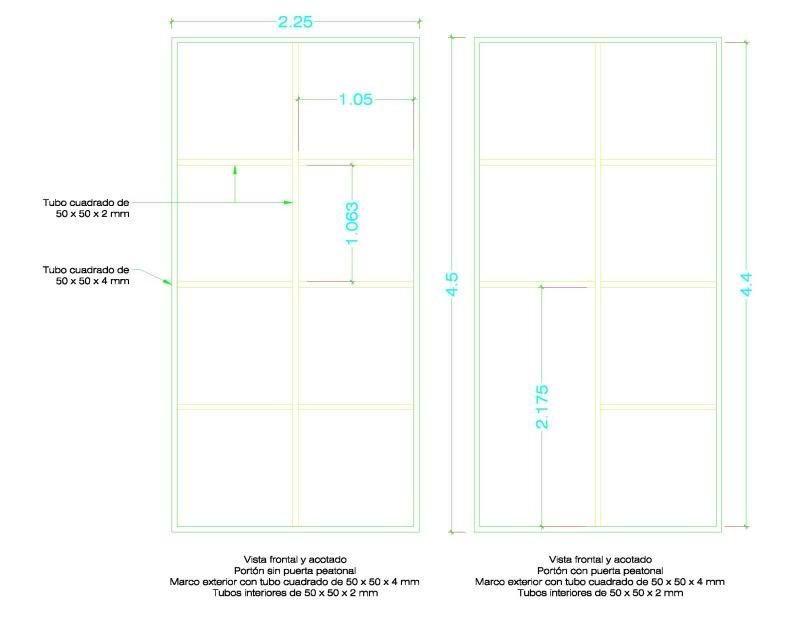Corredizo - [Resuelto] Consulta para la fabricación de portón basculante o corredizo Marcosportnde45