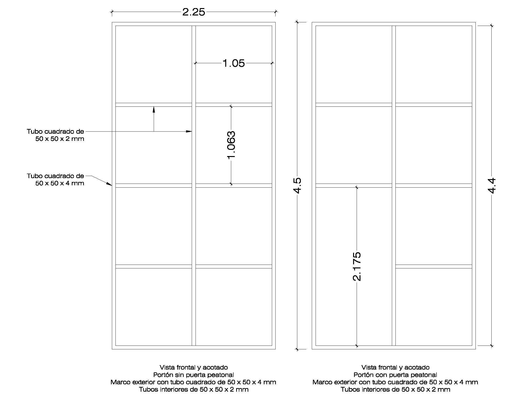 Corredizo - [Resuelto] Consulta para la fabricación de portón basculante o corredizo Marcosportnde45mBN