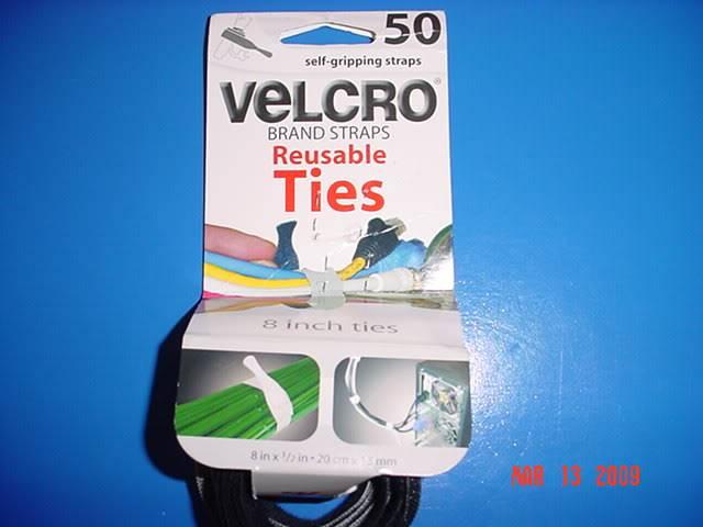 Velcro, organizador de cables eléctricos DSC03242