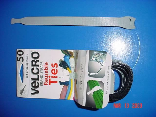 Velcro, organizador de cables eléctricos DSC03246