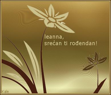 Leanna, sreæan roðendan Leanna