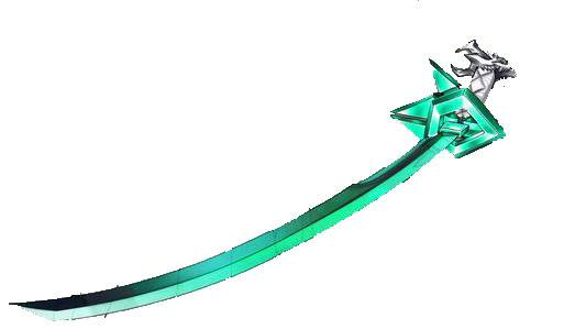 Emerald the Arrancar Blade