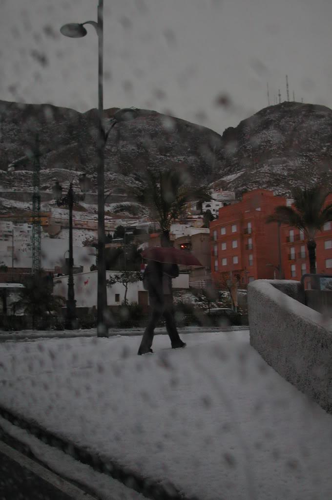 nieve en aguadulce xD