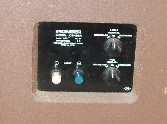Altavoces Pioneer CS-99a Cs-99a3