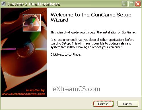 Tutorial instalare GunGame (Automat + Manual) - last version 1-8