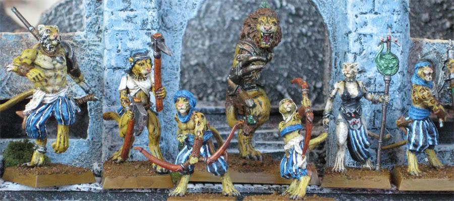 beastmen - folketsfiendes Beastmen of Ind - New pics 110707 Begroup3