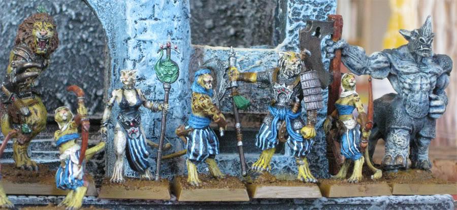 beastmen - folketsfiendes Beastmen of Ind - New pics 110707 Begroup4