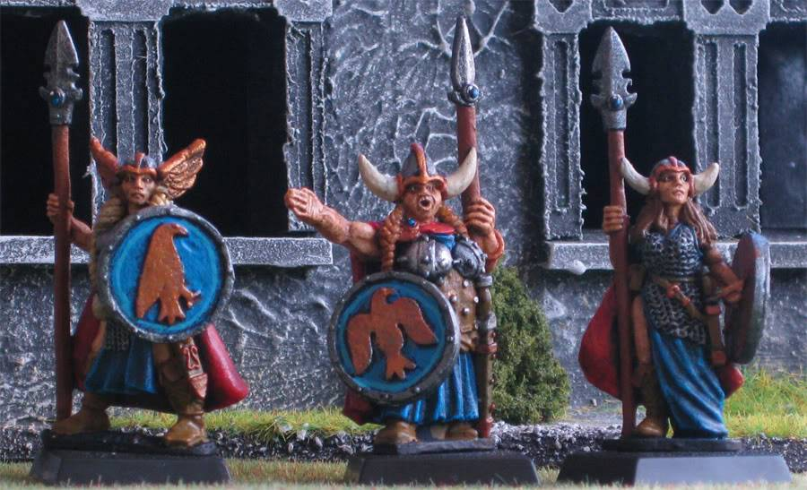 folketsfiendes Norse warband (New pics 101130) Norsespearfr