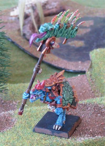 Saurus Battle Standard Bearer Saurusbsb2
