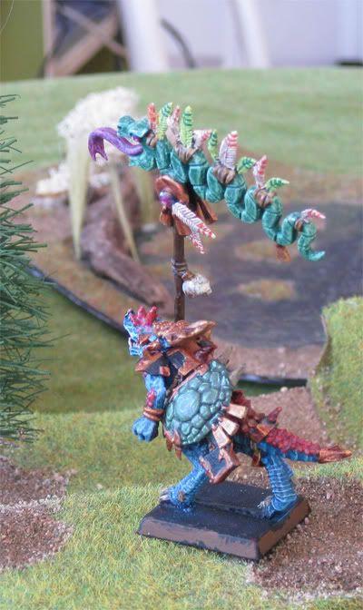 Saurus Battle Standard Bearer Saurusbsb3