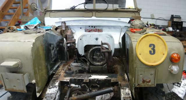 My Landie S2 resto..... 16thfeb2011
