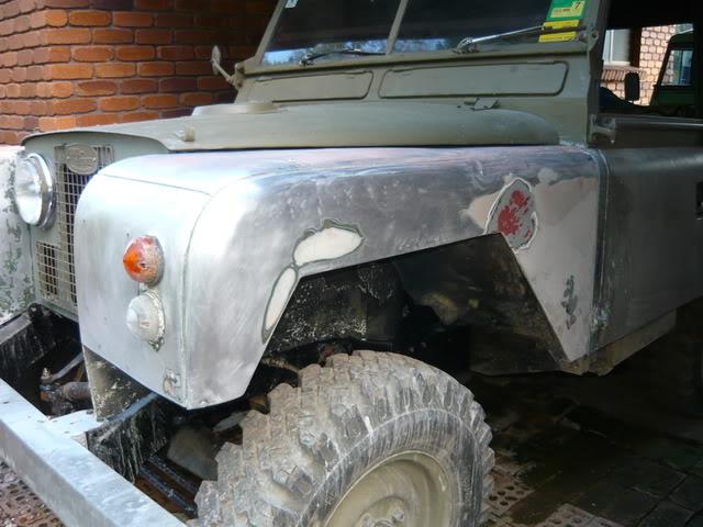 My Landie S2 resto..... P1020501