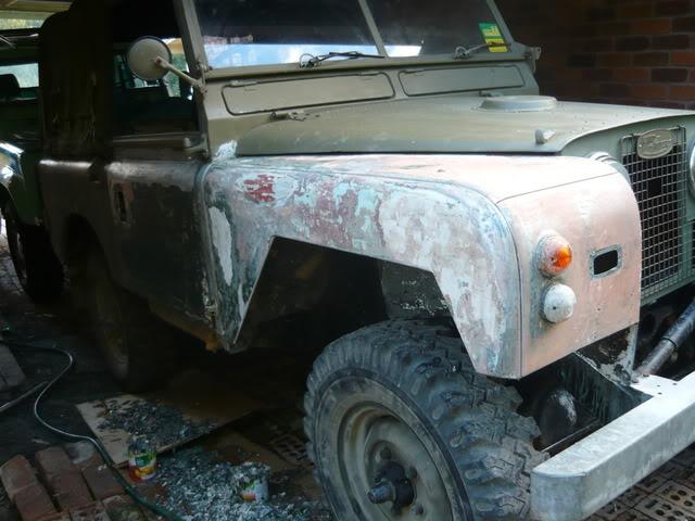 My Landie S2 resto..... P1020502