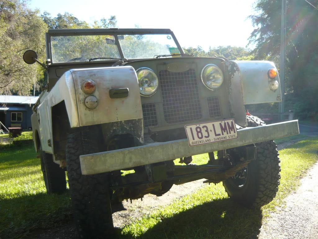 My Landie S2 resto..... P1020564