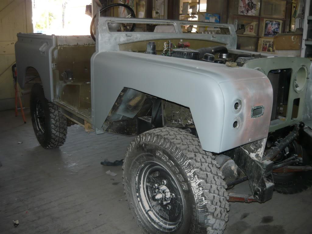 My Landie S2 resto..... P1020845