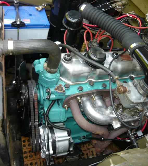 My Landie S2 resto..... Rebuiltmotor