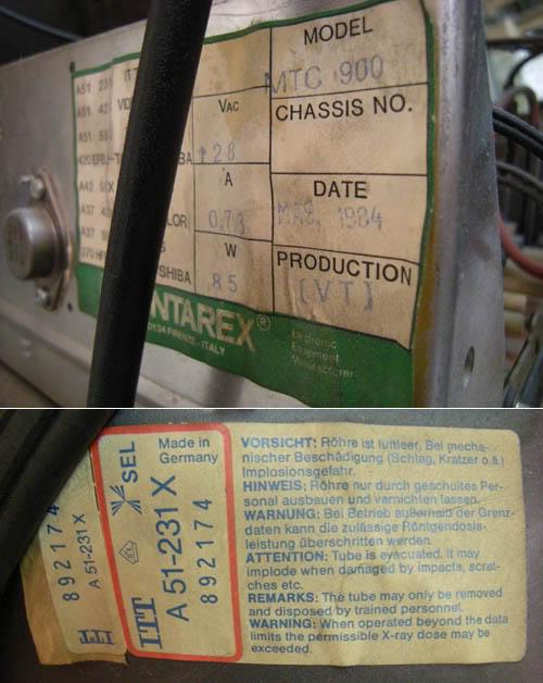 [OLD] la borne d'arcade de leZone - JEUTEL - Hantarex MTC900 - avorté 06-tube-infos