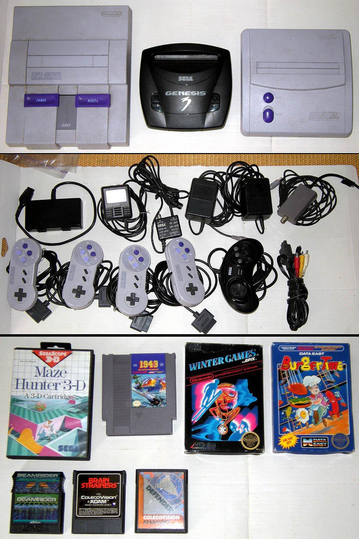 leZ0ne - collection en photos Colis-usa-consoles