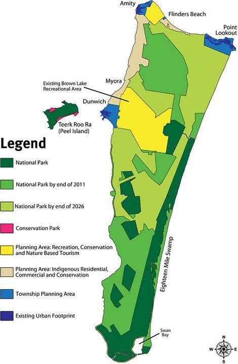 North Straddie Future-precinct-map