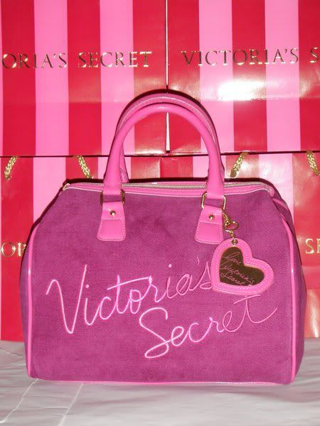 SELLING: ORIGINAL VICTORIA's SECRET VSbag001PUPLEPINKMEDphp1500prt2