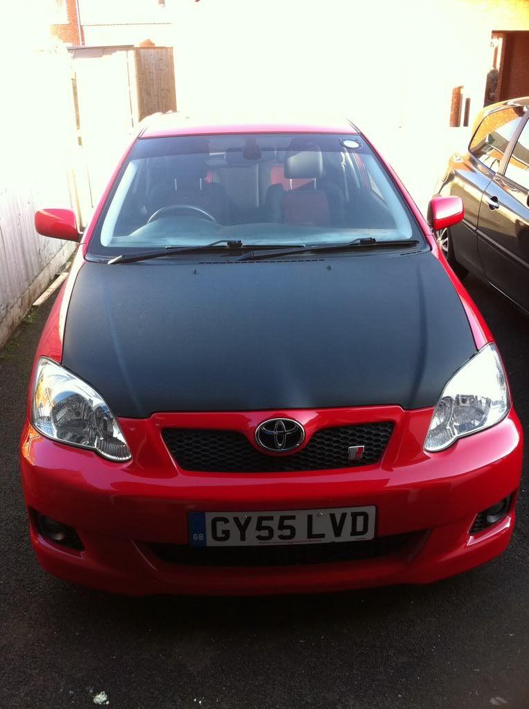Red Corolla T-Sport Stolen GY55 LVD 87143217