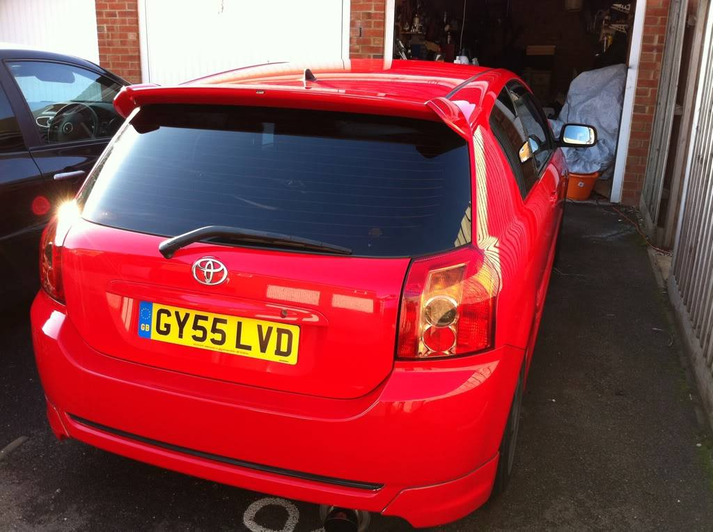 Red Corolla T-Sport Stolen GY55 LVD Dc9bfe4e
