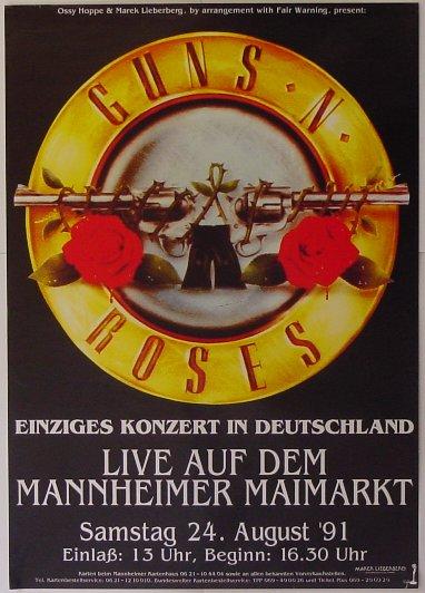 1991.08.24 - Maimarktgelände, Mannheim, Germany 19910824poster_zps0d4c8571
