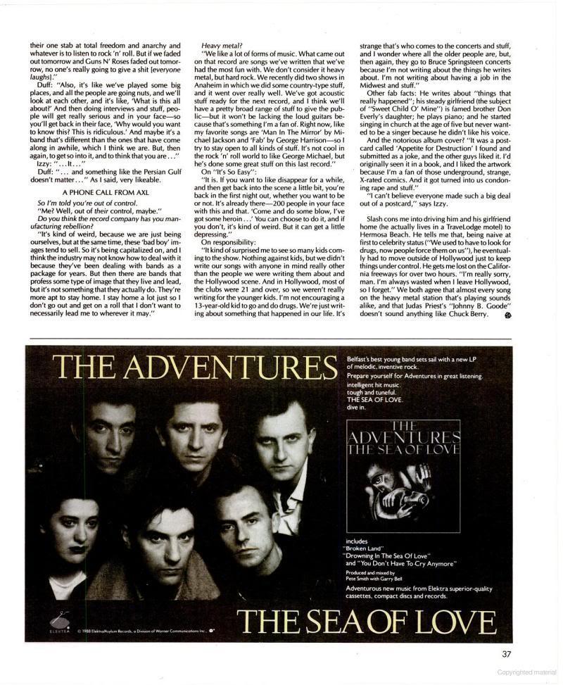 1988.05.DD - Spin - Days Of Guns N' Roses (Axl, Slash, Izzy, Duff) Books5-1