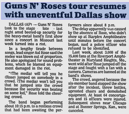 1991.07.08 - Starplex Amphitheatre, Dallas, USA Utennavn-22