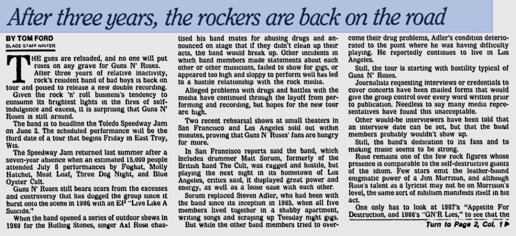 1991.06.02 - Toledo Speedway, Toledo, USA Utennavn-44